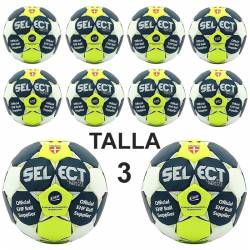 Pack 10 Balones balonmano Select Ultimate Replica Talla 3