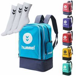 Pack Mochila Zapatillero Academy + Calcetines Hummel