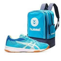 Pack Asics Upcourt 3 GS Junior + Mochila zapatillero