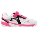 Kempa Wing Junior Blanco Rosa Velcro