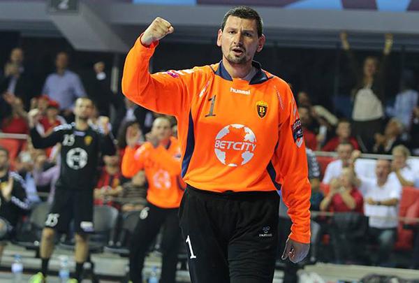 Arpad Šterbik, el mejor portero de la Liga ASOBAL