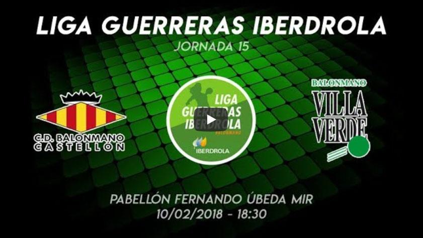 Liga Iberdrola: CD Castellón vs Villa Verde