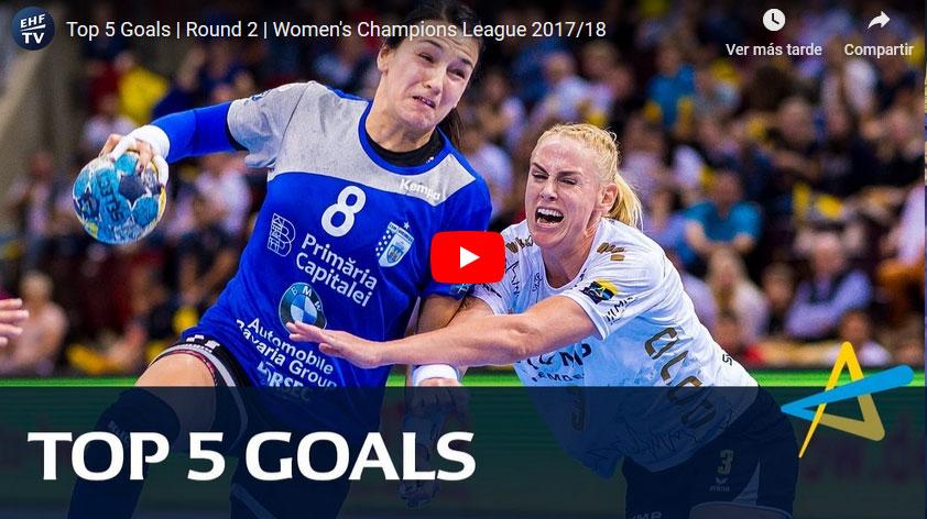 Women's EHF Champions League: Top 5 Goles J2