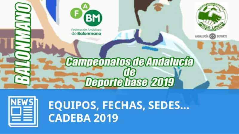 CADEBA 2019