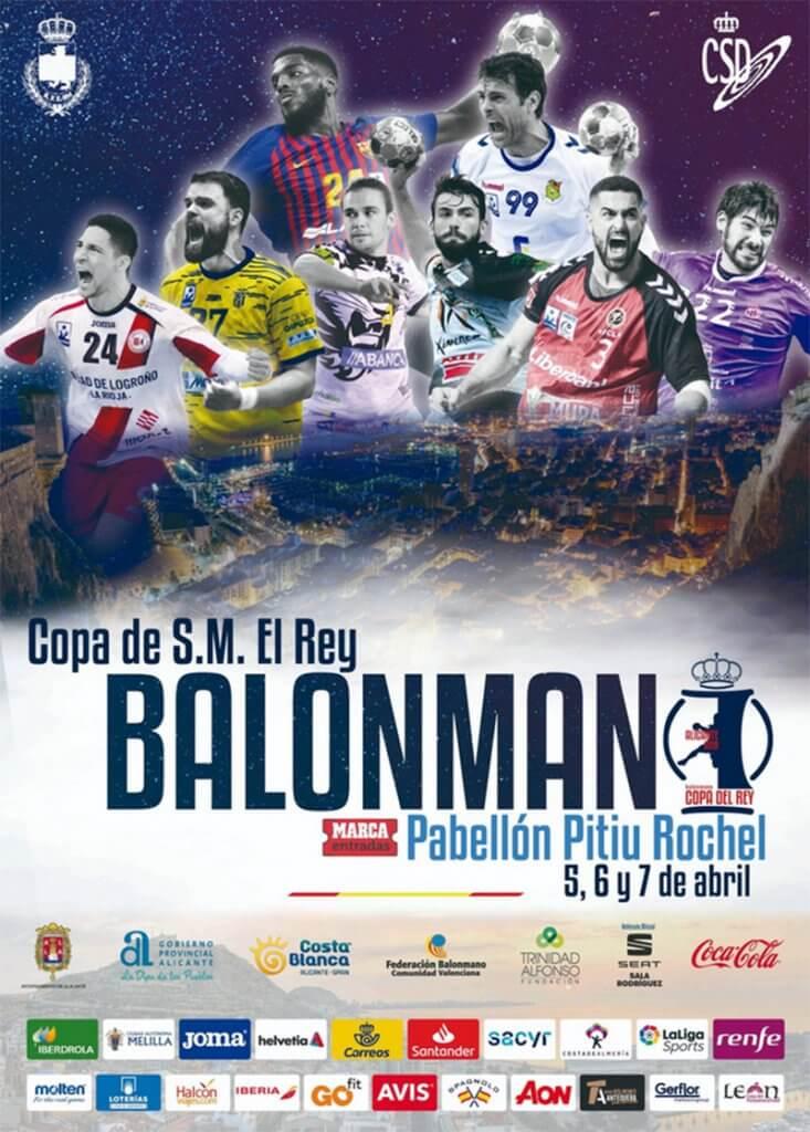 Cartel XLIV Copa del Rey de Balonmano