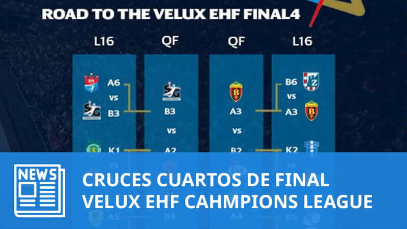 Champions League: Cruces Cuartos de Final | SPS Balonmano