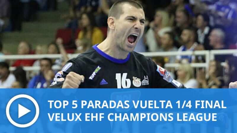 Champions League: Top 5 paradas VUELTA 1/4 FINAL