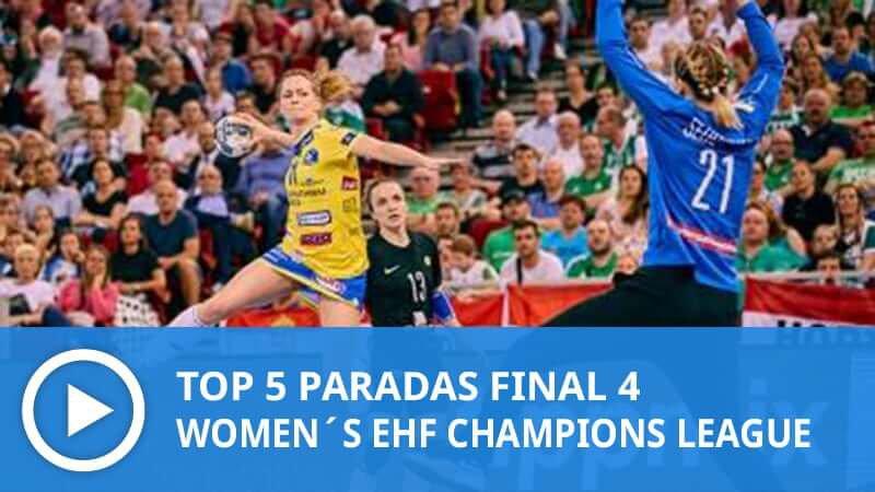 Women´s Champions League: Top 5 Paradas Final 4