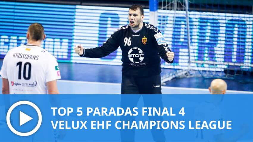 Champions League: Top 5 paradas FINAL 4