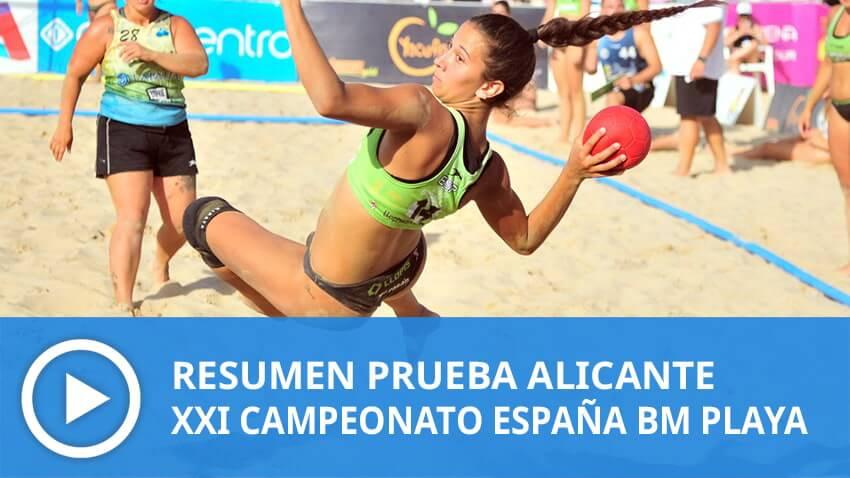 XXI Campeonato de España de Balonmano Playa