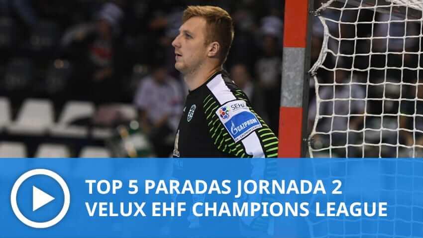 Champions League: Top 5 paradas Jornada 2
