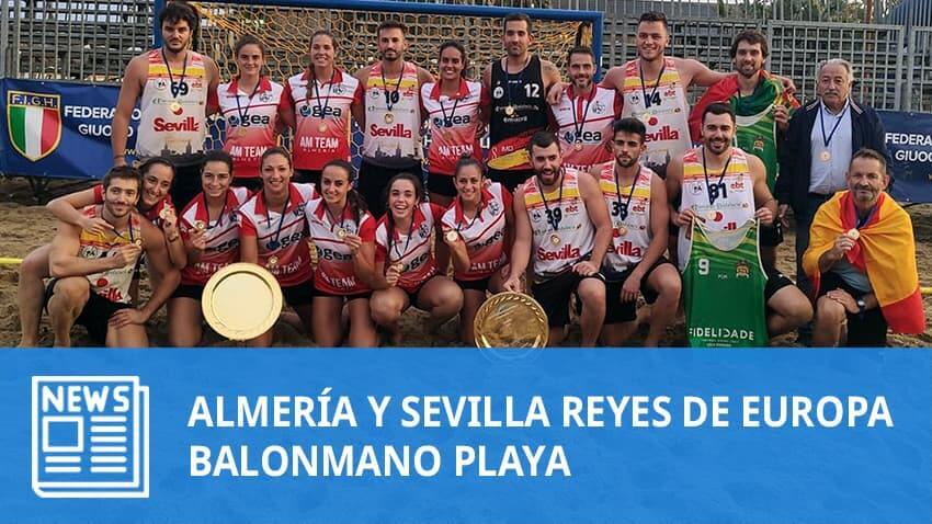 Taberna Panduro AM Team y Pinturas Andalucía Sevilla reyes de Europa