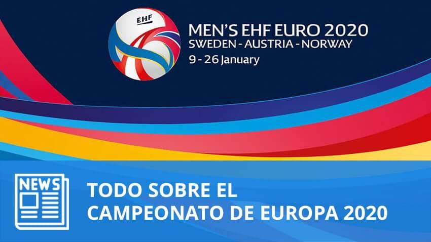 Todo sobre el Campeonato Europa 2020