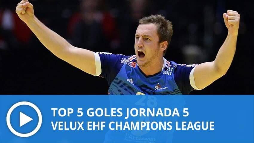 Champions League: Top 5 goles Jornada 5