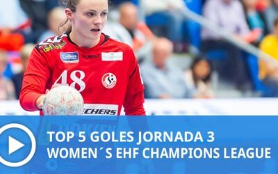 Women´s Champions League: Top 5 Goles Jornada 3