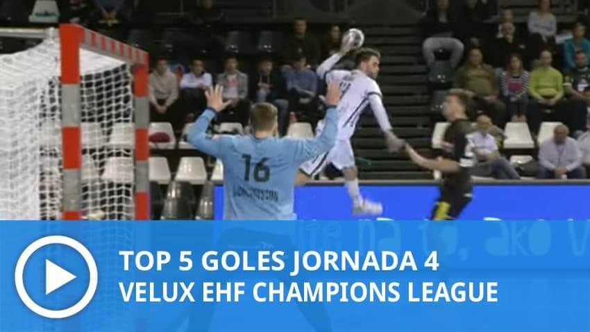 Champions League: Top 5 goles Jornada 4