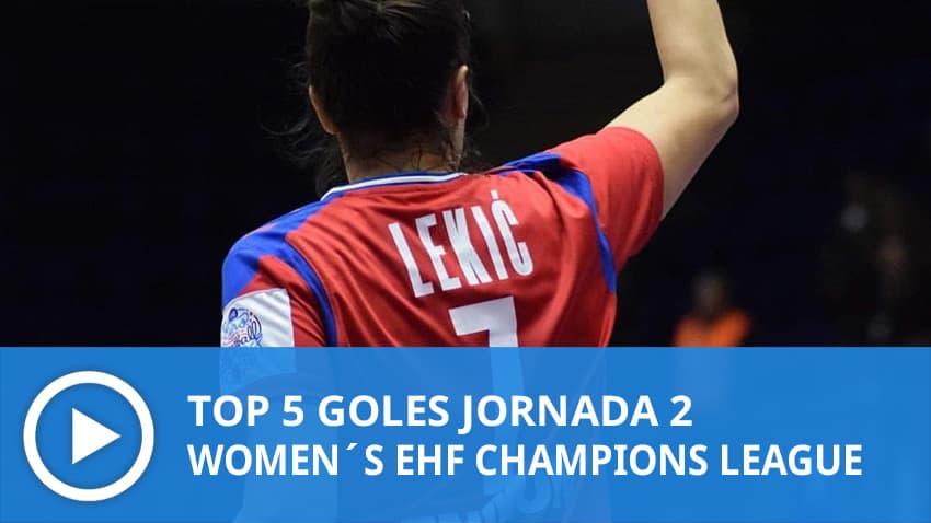 Women´s Champions League: Top 5 Goles Jornada 2