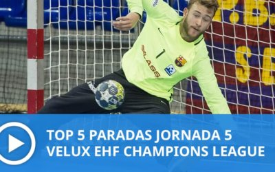 Champions League: Top 5 paradas Jornada 5