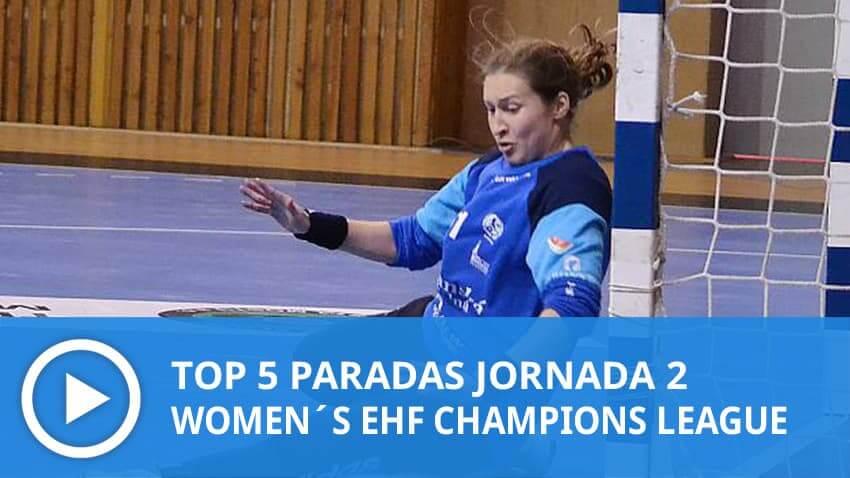 Women´s Champions League: Top 5 Paradas Jornada 2