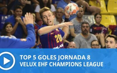 Champions League: Top 5 goles Jornada 8