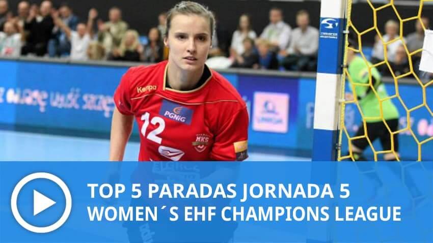 Women´s Champions League: Top 5 Paradas Jornada 5