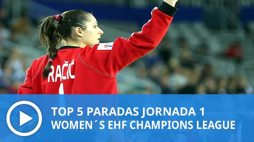 Women´s Champions League: Top 5 Paradas Jornada 1