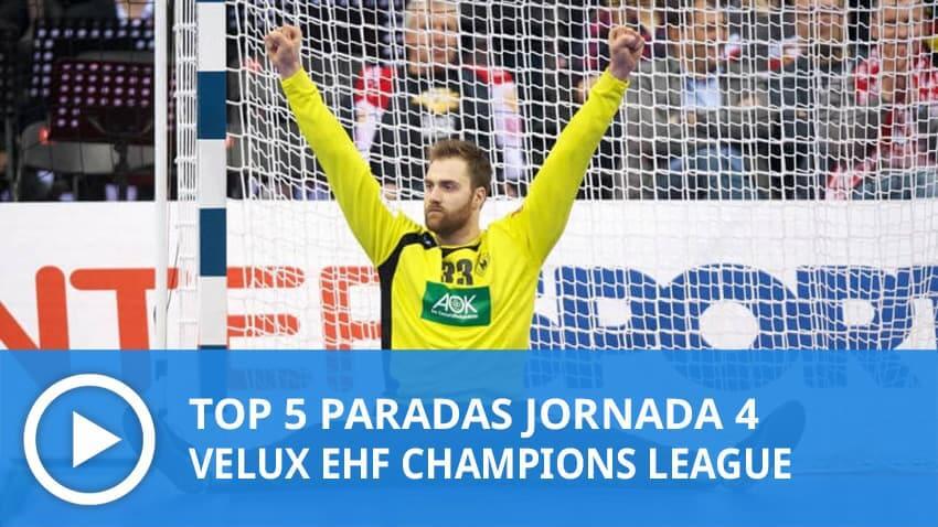 Champions League: Top 5 paradas Jornada 4