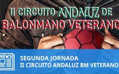 2ª Jornada II Circuito Andaluz de Balonmano Veterano