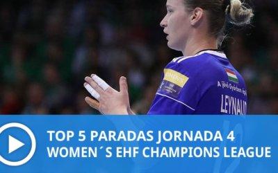 Women´s Champions League: Top 5 Paradas Jornada 4