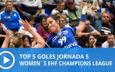 Women´s Champions League: Top 5 Goles Jornada 5