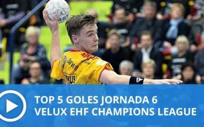 Champions League: Top 5 goles Jornada 6
