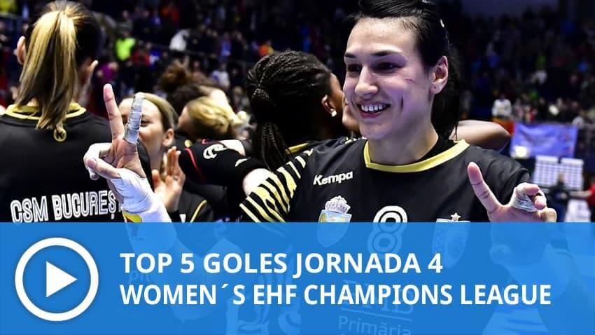 Women´s Champions League: Top 5 Goles Jornada 4