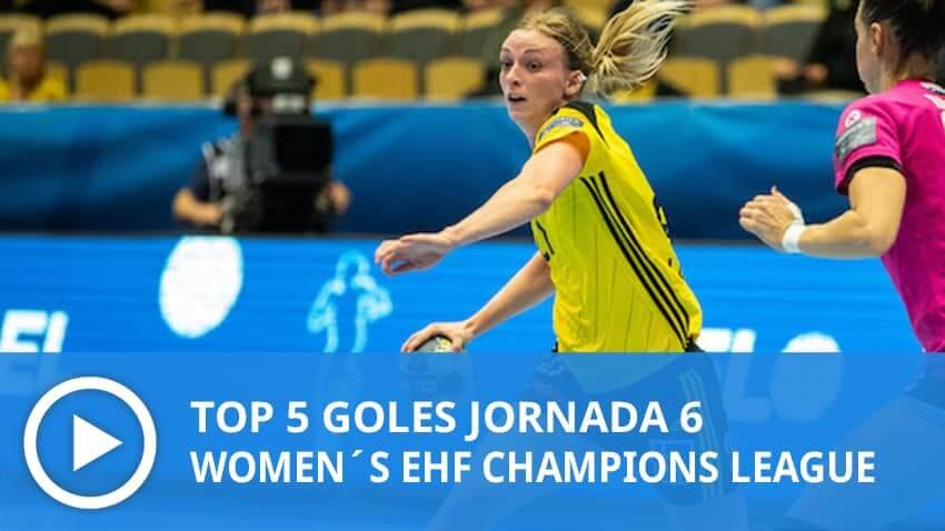 Women´s Champions League: Top 5 Goles Jornada 6