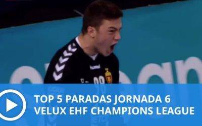 Champions League: Top 5 Paradas Jornada 6