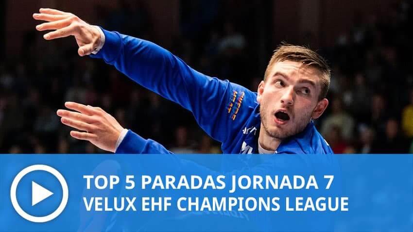 Champions League: Top 5 paradas Jornada 7