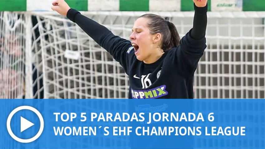 Women´s Champions League: Top 5 Paradas Jornada 6