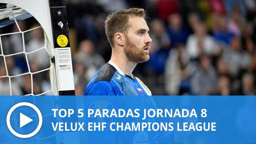 Champions League: Top 5 paradas Jornada 8