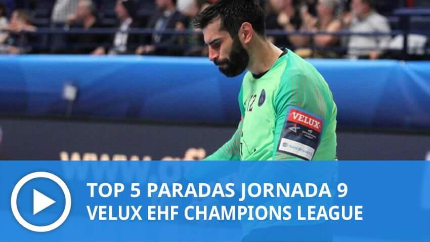 Champions League: Top 5 paradas Jornada 9