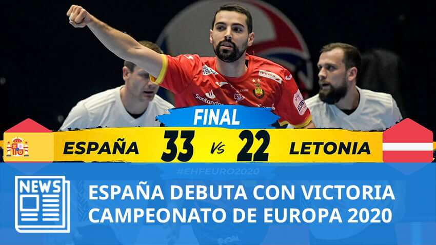 Europe 2020: España debuta con victoria