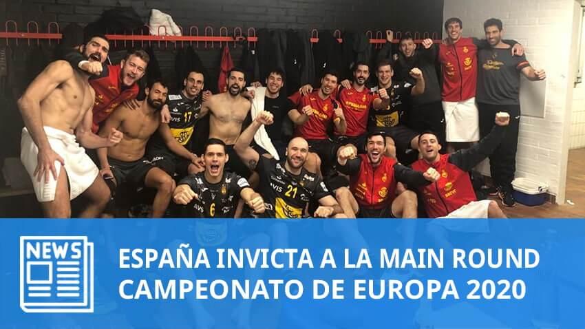 Europe 2020: España invicta a la Main Round