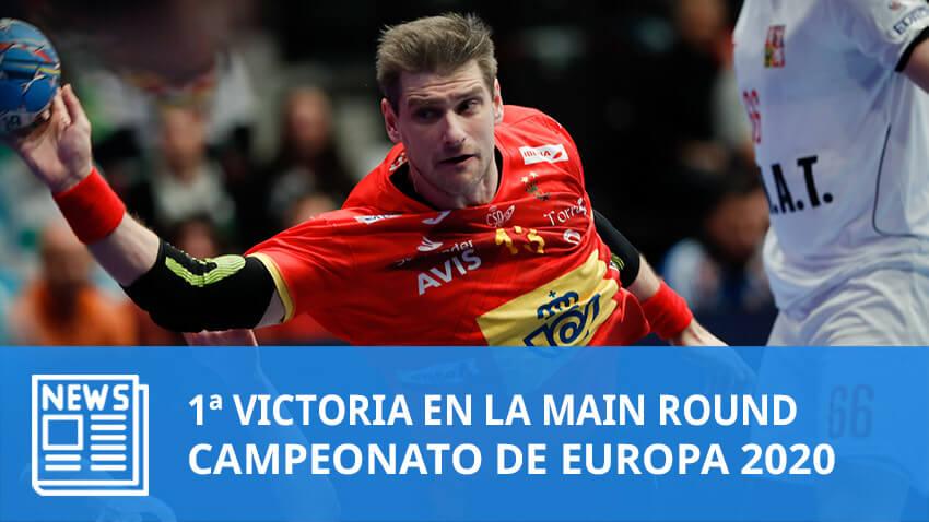Europeo 2020: España vence a República Checa en el primer partido de la Main Round