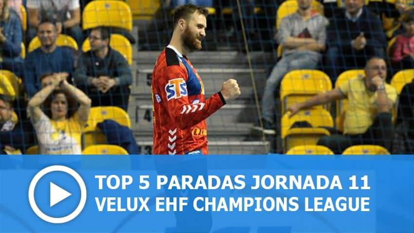 Champions League: Top 5 paradas Jornada 11
