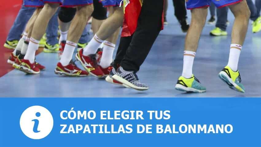 Cómo elegir unas zapatillas de Balonmano
