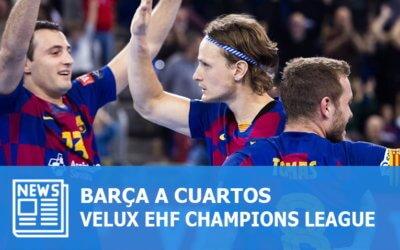 Champions League: Flensburg o Montpellier para el Barça en cuartos