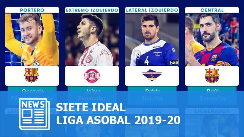 Liga ASOBAL 2019-20: Siete Ideal