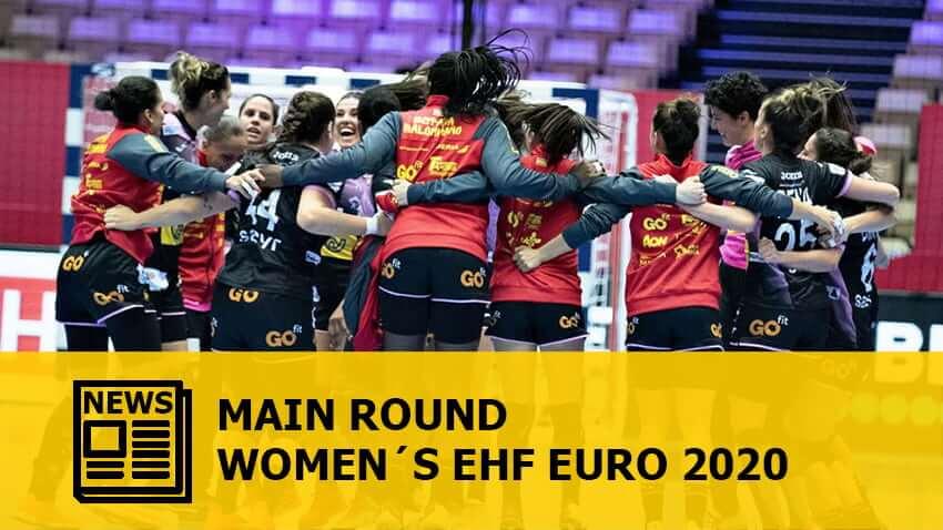 WOMEN´S EHF EURO 2020: Main Round