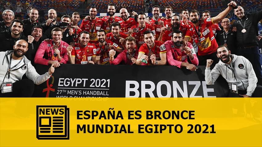 Mundial Egipto 2021: España es bronce